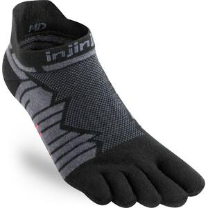 Injinji Ultra Run no-show sokker Grå/Svart Grå/Svart