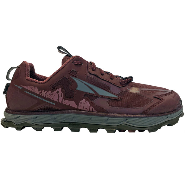 Altra Lone Peak 4.5 Shoes Dam dark port