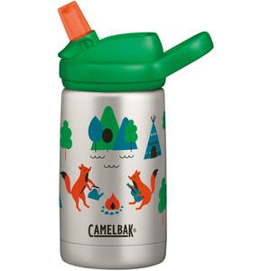 CamelBak eddy Kids Vakuum Edelstahlflasche 350ml Kinder camping foxes camping foxes