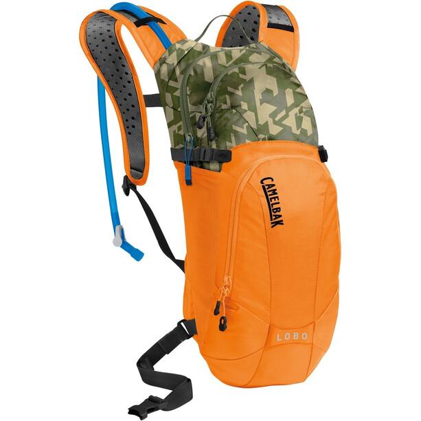 CamelBak Lobo Trinkrucksack 6l+3l russet orange/camelflage