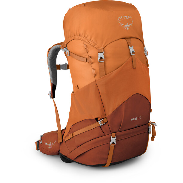 Osprey Ace 50 Rucksack Kinder orange sunset