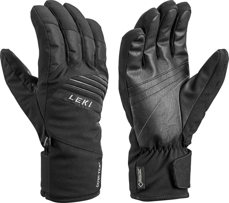 LEKI Space GTX Handschuhe black Wintersport Handschuhe 8,5 643 861301-8,5-black