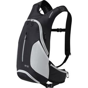 Shimano Rokko 12 Rucksack 12l schwarz/grau schwarz/grau