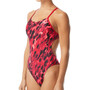 TYR Draco Cutoutfit Swimsuit Women red
