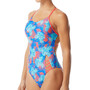 TYR Tortuga Tetrafit Swimsuit Women teal/multi