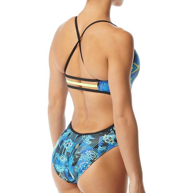TYR Azoic Trinityfit Swimsuit Women blue/multi