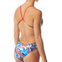 TYR Synthesis Cutoutfit Swimsuit Women red/white/blue