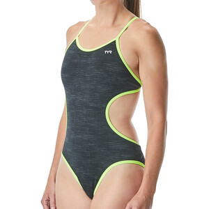 TYR Sandblasted Monofit Swimsuit Women black black
