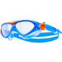clear/blue/orange