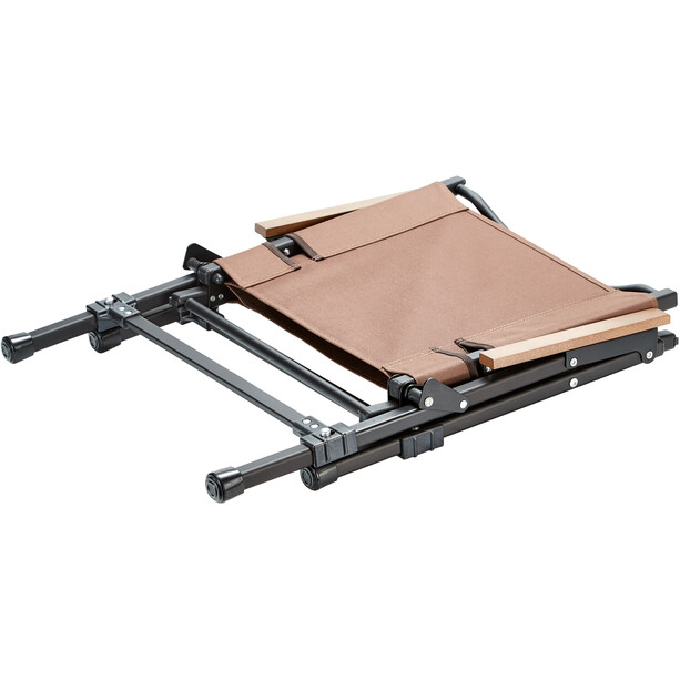 CAMPZ Comfort Aluminium Faltstuhl L braun