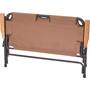 CAMPZ Alumiini Taittuva Tuoli Double, brown