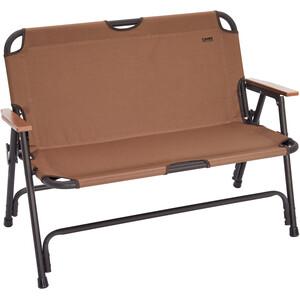 CAMPZ Alumiini Taittuva Tuoli Double, brown brown