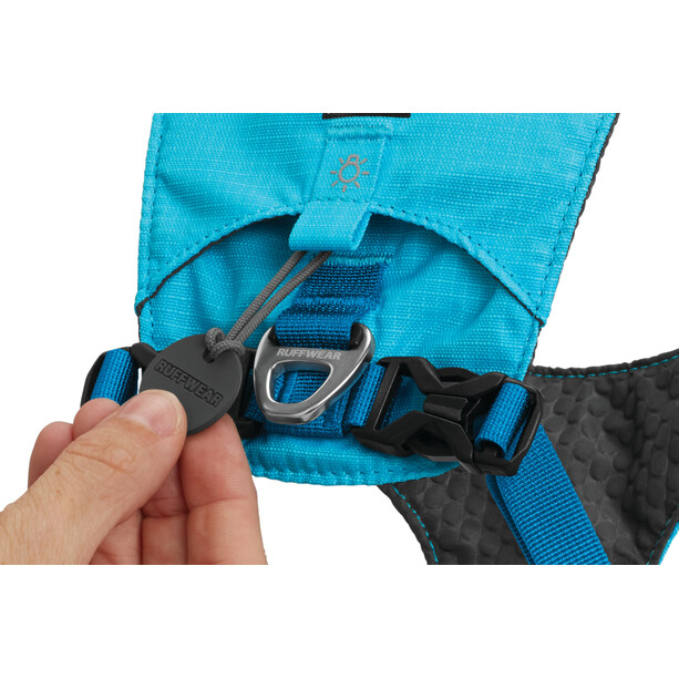 Ruffwear Hi & Light Geschirr blue atoll