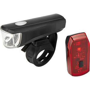 Cube RFR Tour CMPT Beleuchtungsset schwarz schwarz