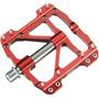 Cube RFR Flat SLT Pedals red´n´grey