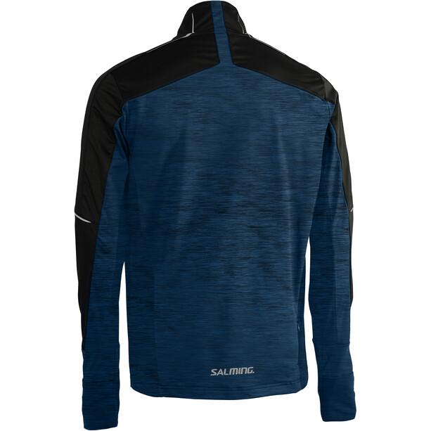Salming Thermo Windjacke Herren black/blue melange