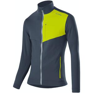 Löffler Thermo Velours Light Full-Zip Sweater Herren graphite/lime graphite/lime