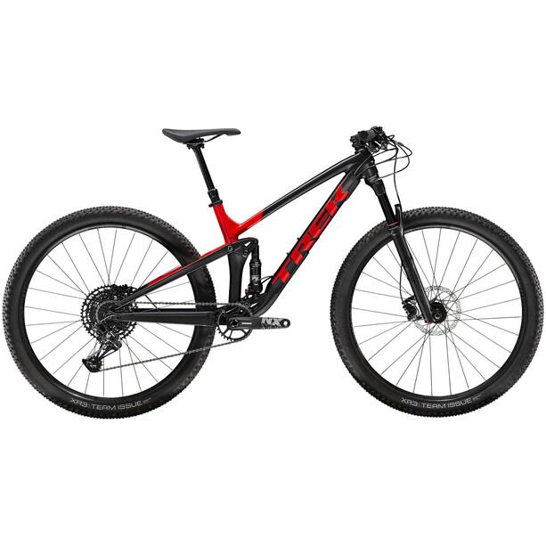 Trek Top Fuel 8 matte trek black/gloss viper red