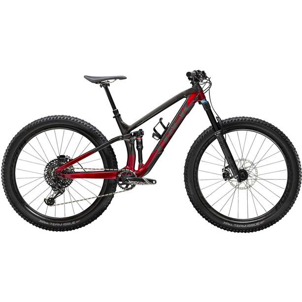 Trek Fuel EX 9.8 GX raw carbon/rage red