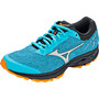 Mizuno Wave Rider TT Trail Running Schuhe Damen bluebird/silver/autumn glory