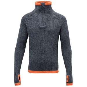 Devold Varde Zip Neck Sweater Ungdomar subsea subsea