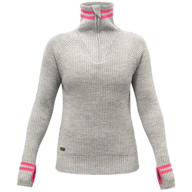 Devold Varde Zip Neck Sweater Dam griffin