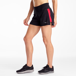 "saucony Taillight 5"" Shorts Dame black black"