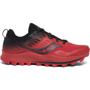 saucony Peregrine 10 ST Schuhe Herren red/black red/black