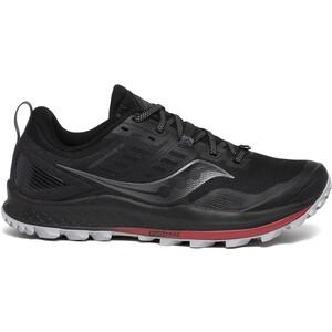 saucony Peregrine 10 Schuhe Herren black/red black/red