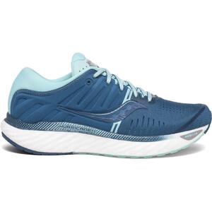 saucony Hurricane 22 Schuhe Damen blue/aqua blue/aqua