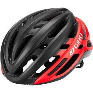 Giro Agilis Helm schwarz/rot schwarz/rot