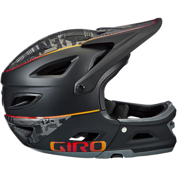 Giro Switchblade MIPS Helmet matte black hypnotic