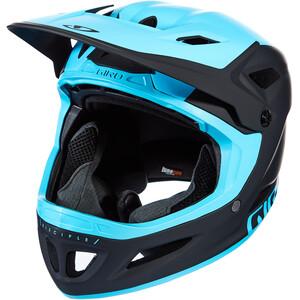 Giro Disciple MIPS ヘルメット マット ブラック/アイスバーグブルー