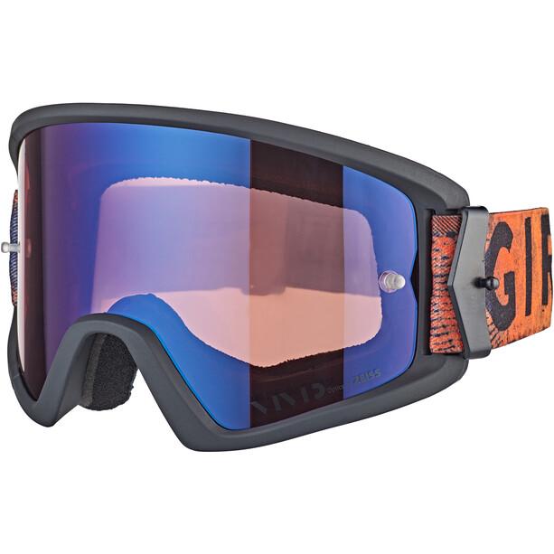 Giro Tazz MTB Goggles black/red hypnotic/vivid trail/clear