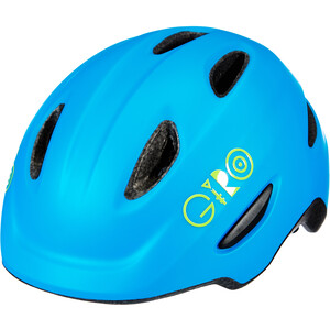 Giro Scamp MIPS ヘルメット キッズ マット ブルー/ライム