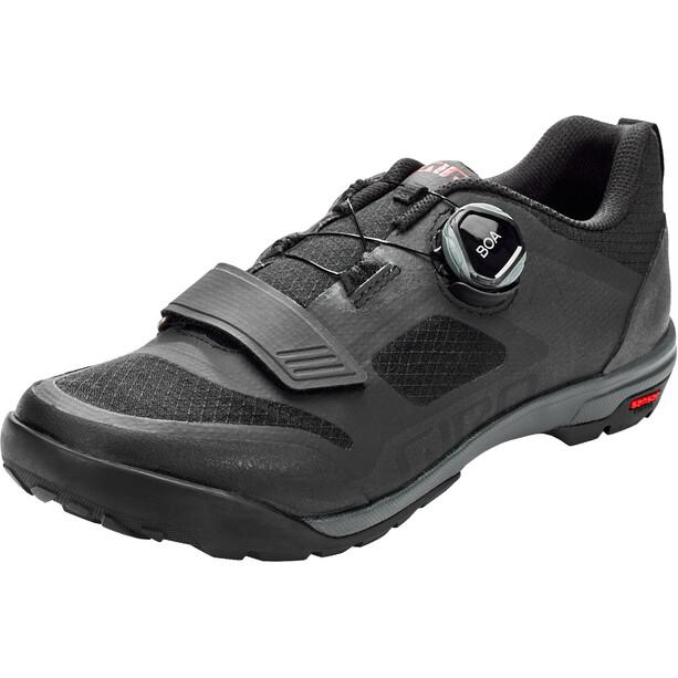 Ventana Shoes Men ブラック/ダークシャドウ