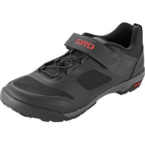 Giro Ventana Fastlace Shoes Men ブラック/ダークシャドウ