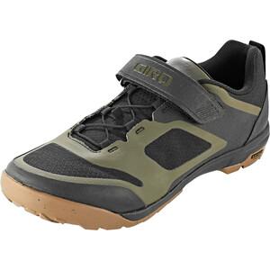 Giro Ventana Fastlace Shoes Men ブラック/オリーブ