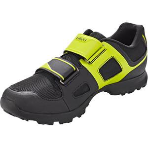 Giro Berm 19 Shoes Men ブラック/シトロン グリーン