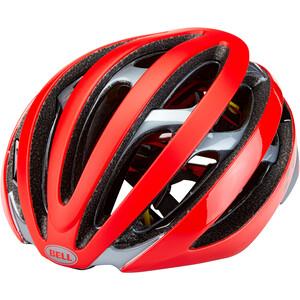 Bell Z20 MIPS Helm rot/grau rot/grau
