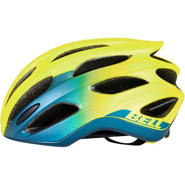 Bell Formula MIPS Helm matte/gloss hi-viz/blue