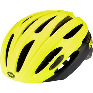 Bell Avenue LED MIPS Helm matte/gloss hi-viz/black matte/gloss hi-viz/black