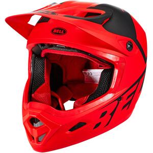 Bell Transfer Helm rot/schwarz rot/schwarz