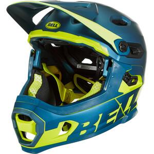Bell Super DH MIPS Kask rowerowy, niebieski/zielony niebieski/zielony