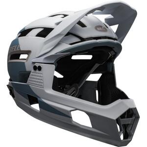 Bell Super Air R MIPS Helmet matte/gloss white/purple matte/gloss white/purple