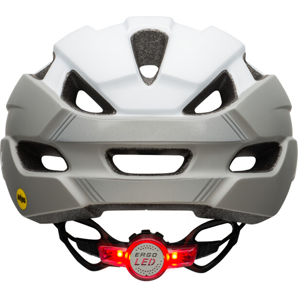 Bell Trace LED MIPS Helm Damen matte white/silver