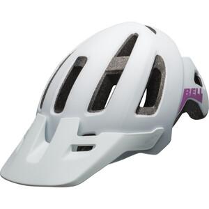 BELL Nomad ヘルメット ユース マット ホワイト/パープル