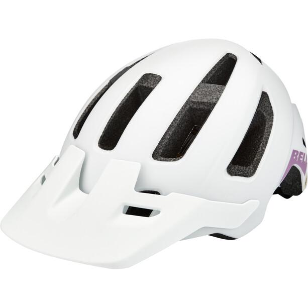Bell Nomad MIPS Helm Jugend matte white/purple