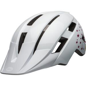 BELL Sidetrack II MIPS ヘルメット キッズ ホワイト スター ※当店通常価格\7690(税込)