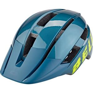 Bell Sidetrack II MIPS Helm Jugend blue/hi-viz blue/hi-viz